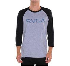RVCA Mens : Tees / Tanks
