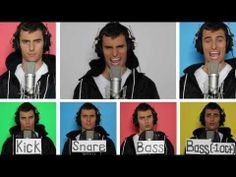 Dynamite - Mike Tompkins, a cappella, plus a wrap-up showing how he made every instrument line using his voice