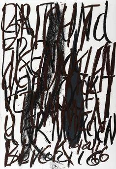 YOSEF JOSEPH DADOUNE   Gray gland 10/02/16   Pastels on Nostalgique Hahnemühle paper  59,4 x 84,1cm (A1) - 190g/m²  Photographer: Yigal Pardo