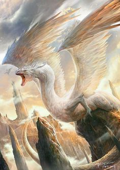 White dragon.