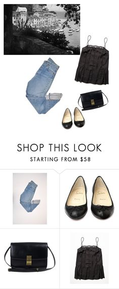 """""""."""" by deest1 ❤ liked on Polyvore featuring Levi's, Christian Louboutin and Free People"""