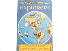 The Real Book About Explorers a Vintage by lizandjaybooksnmore