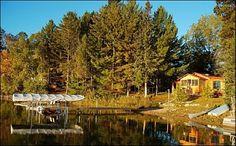 Walker cottage rental - Sunrise on the lake