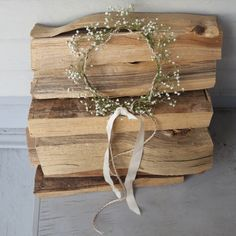 Baby's Breath Wedding Crown with boho braided hair and one sunflower at the side/back