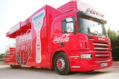 Scania Trucks for Coca Cola® 2014 Sochi Winter Olympics Torch Relay