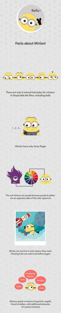 Fun Facts About Minions