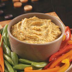 Lime Cilantro Hummus Recipe