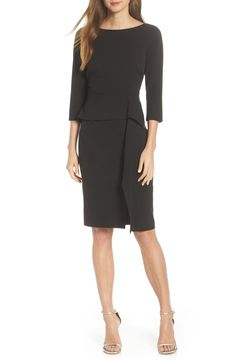 Looking for Vince Camuto Angled Ruffle Sheath Dress (Regular & Petite) ? Check out our picks for the Vince Camuto Angled Ruffle Sheath Dress (Regular & Petite) from the popular stores - all in one. Dresses For Apple Shape, Dresses For Work, Vince Camuto Dress, After Life, Dress Cuts, Curvy Fashion, Fashion Women, Fashion Skirts, Fashion Guide
