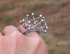 What a cool ring!