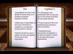 """LA BIBLIA """" TITO """" COMPLETO REINA VALERA NUEVO TESTAMENTO - YouTube"""