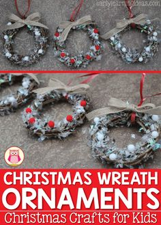 1000 images about early learning ideas on pinterest for Christmas crafts for young children