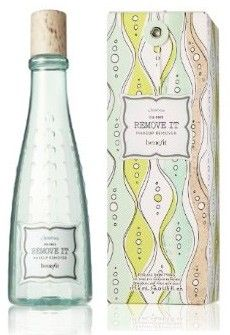 Benefit makeup remover.  Good stuff and cute bottle :)