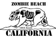 #Zombie Beach California #Zombies