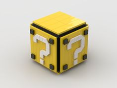 Tommy Williamson's (BrickNerd) Question Cube can be built with instructions from BrickJournal which can be ordered at the link! Level Up, Video Game, Cube, Lego, Magazine, This Or That Questions, Toys, Activity Toys, Clearance Toys