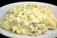 Diétny zemiakový šalát | fitrecepty.sk