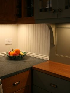 Beadboard Backsplash Design, Pictures, Remodel, Decor and Ideas - page 9