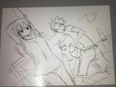 Official drawing By Hiro Mashima (y)