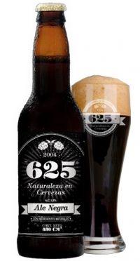 625 Ale Negra  País: Argentina  Empresa: Cerveza 625  Tipo de elaboración: Artesanal  4.12º