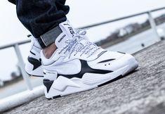 Faut-il acheter la Puma RS X homme Core White Black ? Sneakers Mode, Best Sneakers, White Sneakers, Casual Sneakers, Casual Shoes, Shoes Sneakers, Puma Sneakers For Men, Mens Puma Shoes, Sneaker Outfits