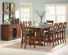 Zappa Counter Height Dining Room Set