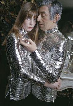 Jane Birkin and Serge Gainsbourg, 1969. Photo: Nicolas Tikhomiroff.