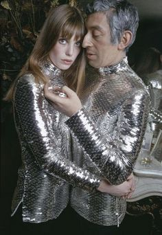 Jane Birkin and Serge Gainsbourg, 1969. Photo: Nicolas Tikhomiroff.