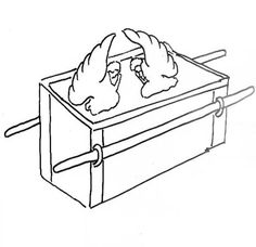 Ark of the covenant coloring page google search sunday for Ark of the covenant coloring page
