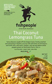 FISHPEOPLE ENTREE ALBCR TUNA THAI CC, 7 OZ ** Startling review available here at : Easy Dinner Meals
