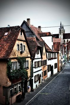 Rothenburg, Germany.....It's my favorite   town in Germany. Many hours have been spent walking those cobbled streets and   enjoying the beauty ........