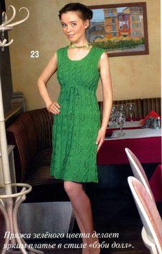 Knitting. Femenino vestidos de verano y vestidos de verano. Debate sobre LiveInternet - Servicio Ruso diario en línea