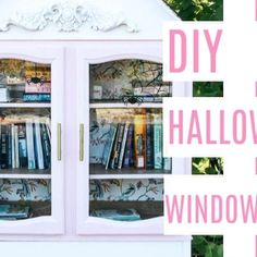 How to make cling projects with a cricut. These would work on a car, on a mirror, in a classroom, for Christmas, and are perfect for kitds Painting Kitchen Counters, Halloween Window Clings, Rainbow Wall, Little Girl Rooms, Round Mirrors, Dream Decor, Diy Halloween, Fun Projects, Playroom
