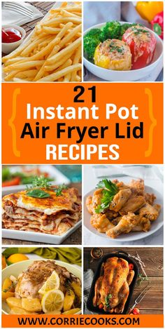 Welcome to the best collection of Instant Pot Air Fryer recipes!     You can find here recipes where we are using only the Air fryer Lid, while keeping the Instant Pot unplugged while cooking.     Learn how to make Instant Pot creme brulee, air fryer french fries, easy chicken wings using your Instant pot duo crisp or even delicious duck in your Mealthy CrispLid!
