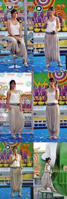 Harem pants. Jacqueline Fernandez