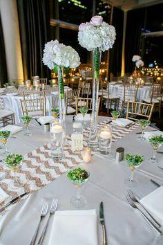 Wedding centerpieces at #thewitchicago hotel. #studioag #studioagdesign Photo by: kolorblind.net