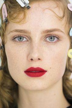 A detailed look at the beauty prescription at Prada Fall 2016