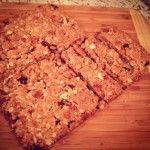Cranberry Apple Granola Cookie Bars