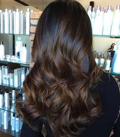 Moresoo Balayage Color Skin Weft Hair Double Sided Body Wave Darkest Brown Fading To Medium Brown Highlighted With Black Hair Ombre, Ombre Hair Color, Brown Hair Colors, Darkest Brown Hair Color, Auburn Balayage, Balayage Color, Beliage Hair, Red Hair, Chocolate Brown Hair Color