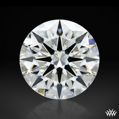 1.006 carat F color VS2 clarity A CUT ABOVE® Hearts and Arrows Super Ideal Round Cut Loose Diamond - Hearts and Arrows Ideal Proportions and a AGS Diamond Report. Price $10,068 www.whiteflash.com