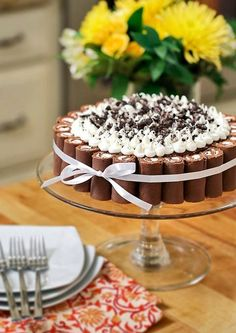 This cake won honorable mention, so easy to make too! Swiss Roll Cookies & Cream Cake!