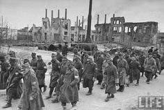 German Prisoners At Stalingrad (1943), via Flickr.