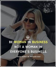 Be a Woman in Business! @https://www.tvcmatrix.com/seysey