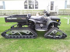 08 polaris big boss with tracks