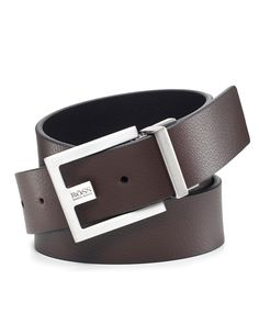 "BOSS Black ""Fleming"" Reversible Belt"