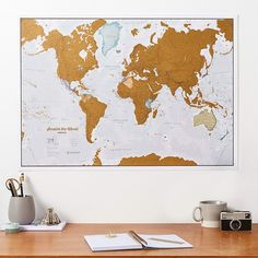 This Scratch Off World Travel Map is the Ideal Way to Memorialize Your Travel Destinations! #travel #worldtravel #maps Wrapping Paper Design, Gift Wrapping Paper, Map Maker, World Map Poster, Silk Art, Wall Maps, Gift Wrapping Services, Travel Maps, Travel Destinations