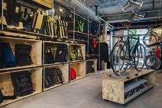 Factory 5 bike shop | Shanghai, China