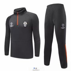 boutique fff Nouveau Champions league Survetement de foot Juventus Gris 2015 2016 grossiste