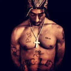 Tupac shakur thug life thug life and thug life tattoo on for Thug life tattoo tupac