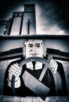 East Side Gallery Street Art, Berlin