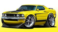 Maddmax Design 1969 Ford Mustang Boss 302 Muscle Car T-Shirts, Apparel, Art and Gifts 1970 Ford Mustang, Ford Mustang Boss, Mustang Mach 1, 1949 Chevy Truck, Cool Car Drawings, Truck Art, Car Colors, Car Posters, Automotive Art