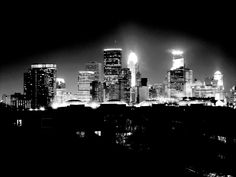 The novel takes place in Minneapolis, Minnesota, my home town. I love how the city looks at night.